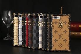 louis vuitton phone case iphone 7 plus. tpu material iphone 6, 6 plus / 7, 7 luxury monogram steamer trunk louis vuitton phone case i