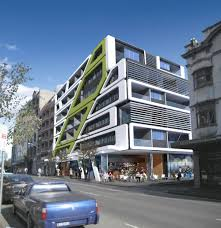 Contemporary Pod Apartments Design Exterior  Modern Apartments - Modern apartment building facade