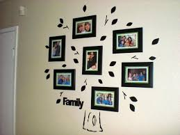 family tree picture frame wall unique home design family tree wall decal with frames front door baby the