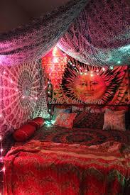 Karvi Sun Moon Tie Dye Wall Tapestry