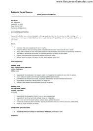 Resume Template For New Graduates New Grad Nursing Resume Examples Hotwiresite Com