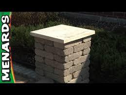 concrete block columns how to build