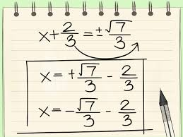 ideas collection how to plete the square with pictures wikihow about algebraic equation rearranger of