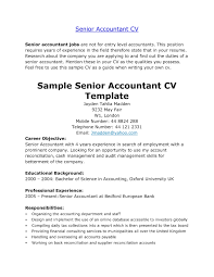 Cv Example Accountant Inspiration Assistant Management Accountant Cv