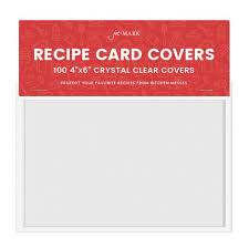 Recipe Card Covers Pack Of 100 – Jot & Mark