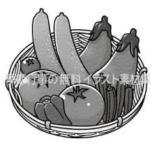 食べ物 季節行事の無料イラスト素材集