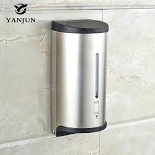 bathroom soap dispensers wall mounted. Neat Bathroom Liquid Soap Dispenser Wall Mounted Automatic Bath Accessories . Dispensers