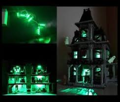 haunted house lighting. La Foto Se Está Cargando LED-Light-Kit-for-LEGO-10228-Monster-Fighters- Haunted House Lighting