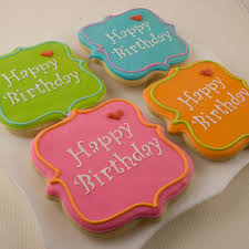 Birthday Cookies By Truly Scrumptious Cookies