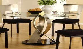 kitchen table extraordinary black glass white dining photo with amusing round top tables inches circle 18