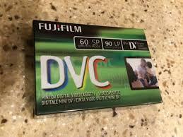MiniDV Fujifilm Mini DVC Cassette 60 Min Electronics