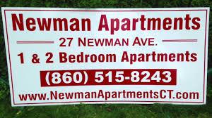 Newman Apartments of Waterbury CT 2 Bedroom 1 Bathroom