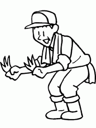 zookeeper coloring page. Delighful Coloring Farmer People Coloring Pages Throughout Zookeeper Page E
