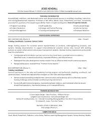 Facilitator Resume Sample Samples Resume Templates And Cover Letter