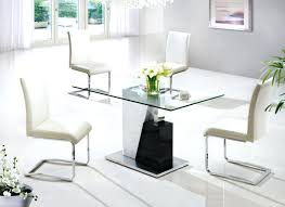modern glass dining table small modern dining table new at custom room sets wonderful chic intended modern glass dining table