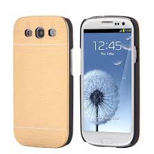 samsung galaxy s3 cases. hard aluminum metal back cover+plastic frame cases for samsung galaxy s3 protective armor