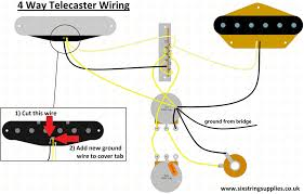 4 way telecaster wiring six string Four Way Switch Wiring Diagram Inside a 4 Way Switch