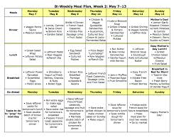 weekly meal planning for two low calorie meals that won t leave you starving