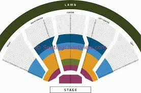 Fred Kavli Theatre Detailed Seating Chart 19 Images Dte Energy Music Theatre Seating Chart With Seat