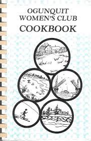 Ogunquit Women S Club Cookbook 1990