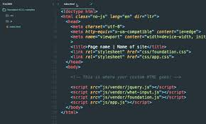 ZURB Foundation Training | Zero to Website Guide<br> Part 2:<br ...