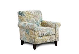 coral accent chair.  Accent Fusion Labyrinth Coral Reef Caribbean Accent Chair To