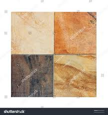 four marble tiles samples in diffe colors