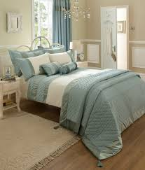 catherine lansfield classique bedding range duck egg free delivery over 30 on all uk orders