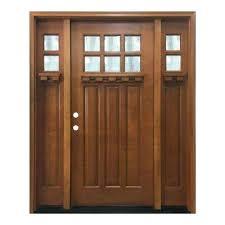 white craftsman front door.  Craftsman Craftsman Front Door With Sidelights Bungalow 6 Lite Right Hand  Wheat Fiberglass Entry   On White Craftsman Front Door