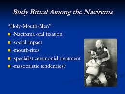 essay body ritual among nacirema
