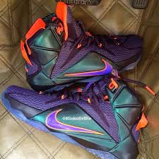 lebron purple. new lebron 12 colorway perfect for king james fans in phoenix lebron purple /
