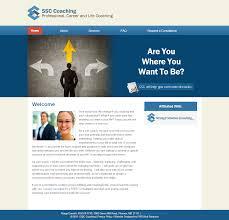 Everett Web Design Ssc Coaching Webdesign Portfolio Coaching Web Design