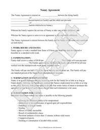 daycare contract template heidi davis hmdavis1983 on pinterest