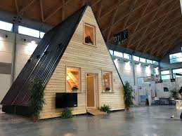 Foldable Houses A Frame Foldable Tiny Home Prefab Cabin By In Houses