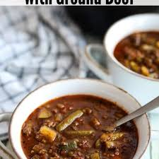 down home keto vegetable soup with