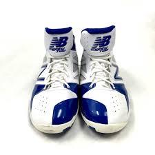 new balance basketball shoes. new balance bb82wb white/team royal basketball shoes size 11
