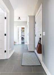 grey and blue mudroom the lilypad cote