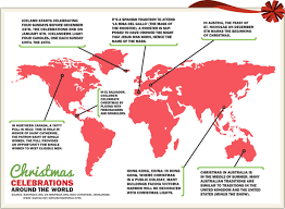 Top 15 Maps And Charts That Explain Christmas Geoawesomeness