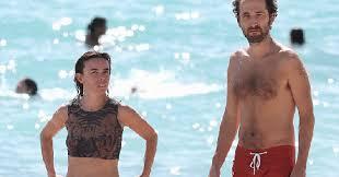 PHOTOS - Elodie Bouchez : sexy sur la plage avec son Daft Punk