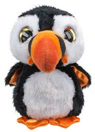 <b>Мягкая игрушка Lumo Stars</b> Тупик Lunni черно-белый 15см 54975 ...