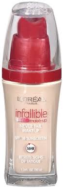 l oreal paris infallible advanced never fail makeup clic ivory 1 0 ounces