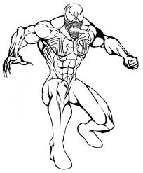Venom Coloring Pages | asoboo.info