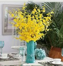 Floral Home Decor Silk Flower Arrangement With Feathers U0026 Reviews Artificial Flower Decoration For Home