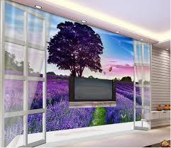 Lavender Living Room Online Get Cheap Lavender Wallpaper Aliexpresscom Alibaba Group