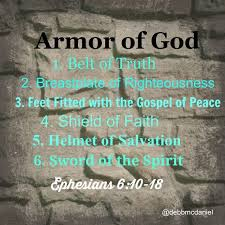 Image result for the whole armor of god prayer