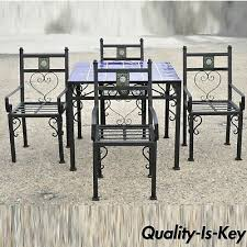 post 1950 set table 6 chairs 2