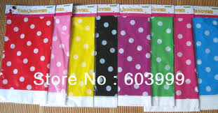 black and white plastic polka dot tablecloth x plastic table cloth rectangle polka dots party tableware