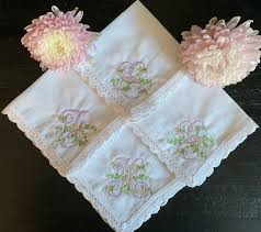A handkerchief, also called a handkercher or hanky, is a form of a kerchief, typically a hemmed square of thin fabric that can be carried in the pocket or purse, and which is intended for personal hygiene purposes such as wiping one's hands or face, or blowing one's nose. Custom Monogram Embroidered Handkerchiefs The Hanky Shoppe