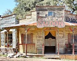 western photograph old western saloon by terry fleckney