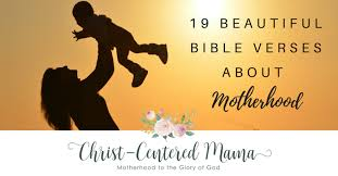 Bible Quotes About Mothers Interesting 48 Beautiful Bible Verses About Motherhood ChristCentered Mama